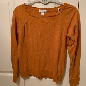 Burnt orange long sleeve